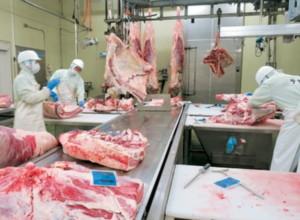 牛部分肉加工室